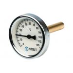 Термометр биметаллический с погружной гильзой
