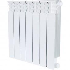 Stout Space 500 7 секций радиатор биметаллический нижнее правое подключение
