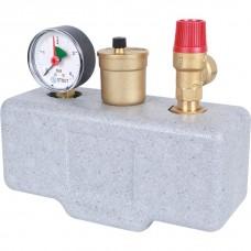 Stout Группа безопасности котла (до 50 кВт) (в теплоизоляции)