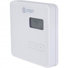 Stout Проводной комнатный регулятор R-10b, белый