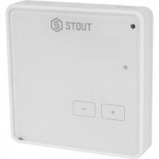 Stout Проводной комнатный регулятор R-10z, белый