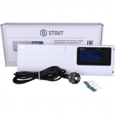 Stout Проводной контроллер термостатических клапанов L-7