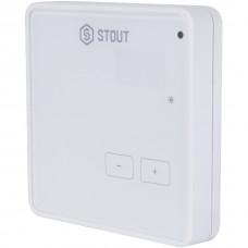 Stout Беспроводной комнатный регулятор R-8z, белый