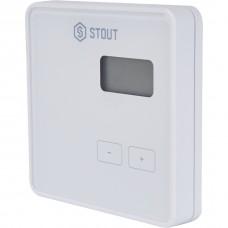 Stout Беспроводной комнатный регулятор R-8b, белый