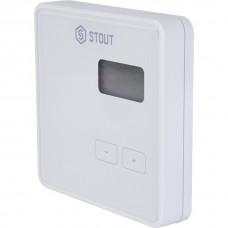 Stout Проводной комнатный регулятор R-9b, белый