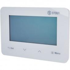Stout Проводной комнатный двухпозиционный регулятор ST-293v3, белый
