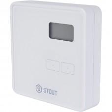 Stout Проводной комнатный двухпозиционный регулятор ST-294v1, белый