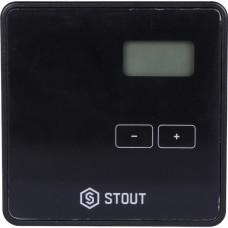 Stout Проводной комнатный двухпозиционный регулятор ST-294v1, черный