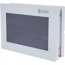 Stout Регулятор WIFI для управления беспроводными электрическими приводами, ST-8s WIFI, белый