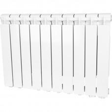 Stout Bravo 500 10 секции радиатор алюминиевый нижнее правое подключение (белый RAL 9010)