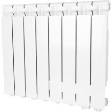 Stout Bravo 500 8 секции радиатор алюминиевый нижнее правое подключение (белый RAL 9010)