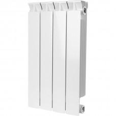 STOUT STYLE 500 4 секции радиатор биметаллический боковое подключение