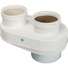Stout Элемент дымохода DN80/80 адаптер для подкл. разд. труб (совместимый Vaillant,Ptotherm New ) PP