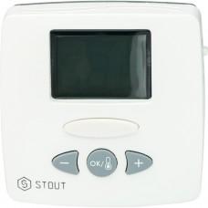 Stout Термостат комнатный электронный WFHT-LCD. С выносным датчиком