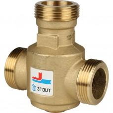 """Stout Термостатический смесительный клапан G 1""""1/4 НР 60°С"""