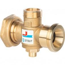 Stout Термостатический смесительный клапан G 1)41/2M-G 1)41/2F-G 1)4M 60°С