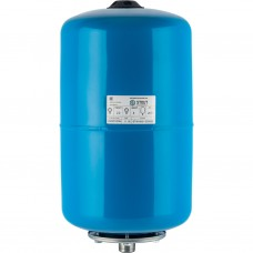 Stout Расширительный бак, гидроаккумулятор 20 л. вертикальный (цвет синий)