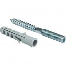Stout Шпилька сантехническая М8*100мм с дюбелем М 10*50