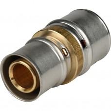 Stout Муфта соединительная переходная 32х26 для металлопластиковых труб прессовой