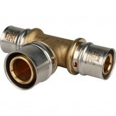 Stout Тройник переходной 26х32х26 для металлопластиковых труб прессовой