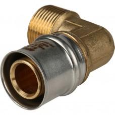"""Stout Угольник-переходник с наружной резьбой 1""""х32 для металлопластиковых труб прессовой"""