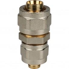 Stout Муфта соединительная переходная 20x16 для металлопластиковых труб винтовой