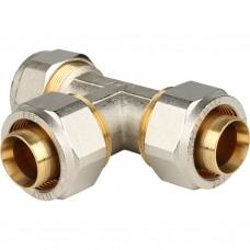 Stout Тройник равнопроходный 32x32x32 для металлопластиковых труб винтовой