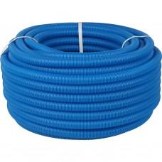 Stout Труба гофрир. ПНД, цвет синий, наружным диаметром 25 мм для труб диаметром 16-22 мм