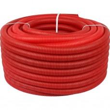 Stout Труба гофрир. ПНД, цвет красный, наружным диаметром 32 мм для труб диаметром 25 мм