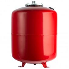 Stout Расширительный бак на отопление 50 л. (цвет красный) вертикальный