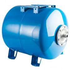 Stout Расширительный бак, гидроаккумулятор 80 л. горизонтальный (цвет синий)