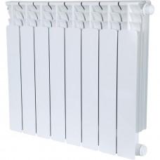 Stout Space 500 8 секций радиатор биметаллический нижнее правое подключение