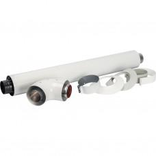 Комплект коаксиальный для прохода через стену DN60/100 (850 мм)