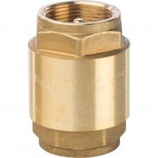 """1 1/4"""" Клапан обратный пружинный муфтовый с металлическим седлом"""