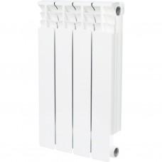 Stout Space 500 4 секции радиатор биметаллический боковое подключение
