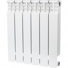 Stout Space 500 6 секций радиатор биметаллический боковое подключение